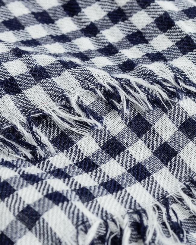 Schal im Vichy-Karo