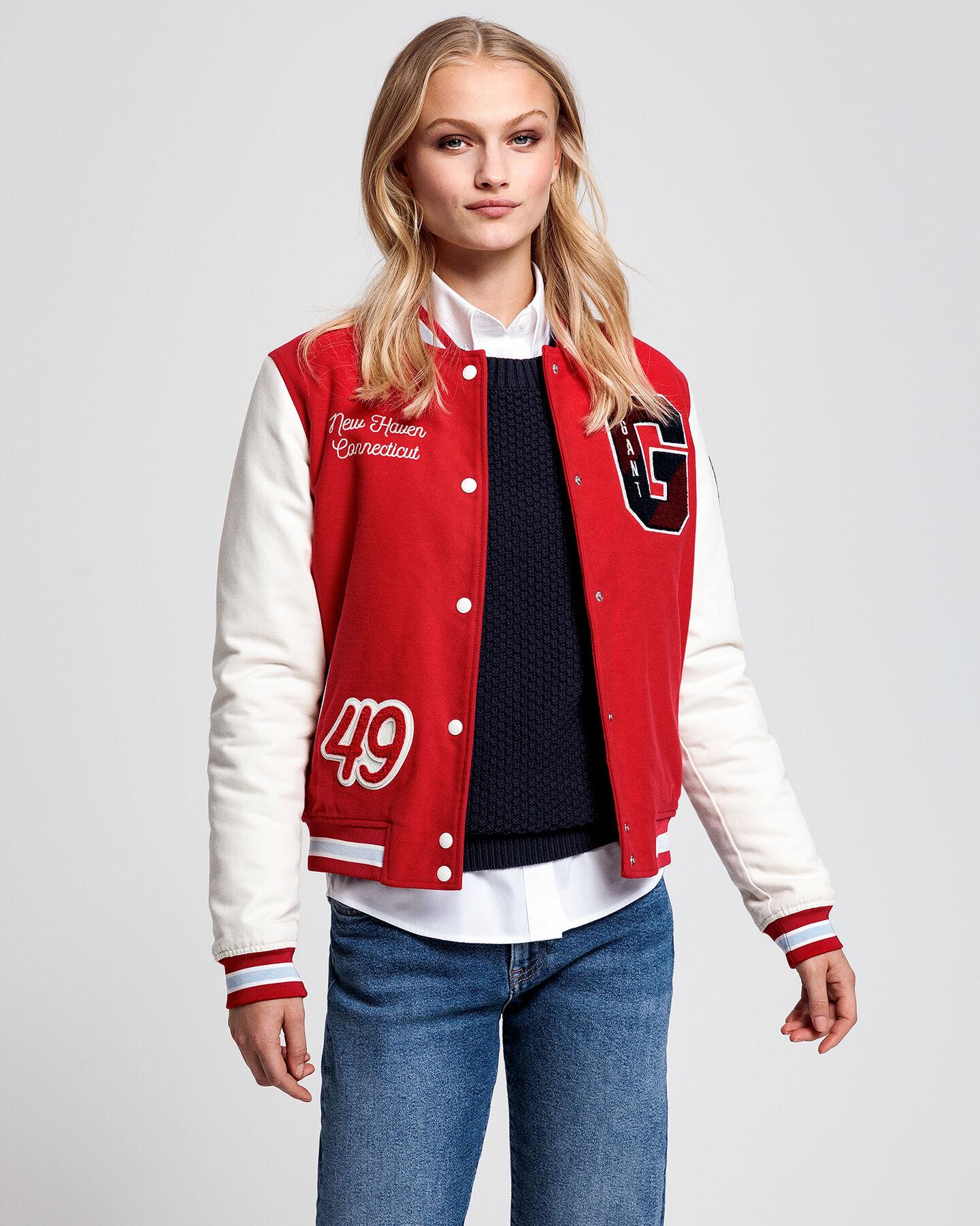 Moleskin GANT Varsity Jacket