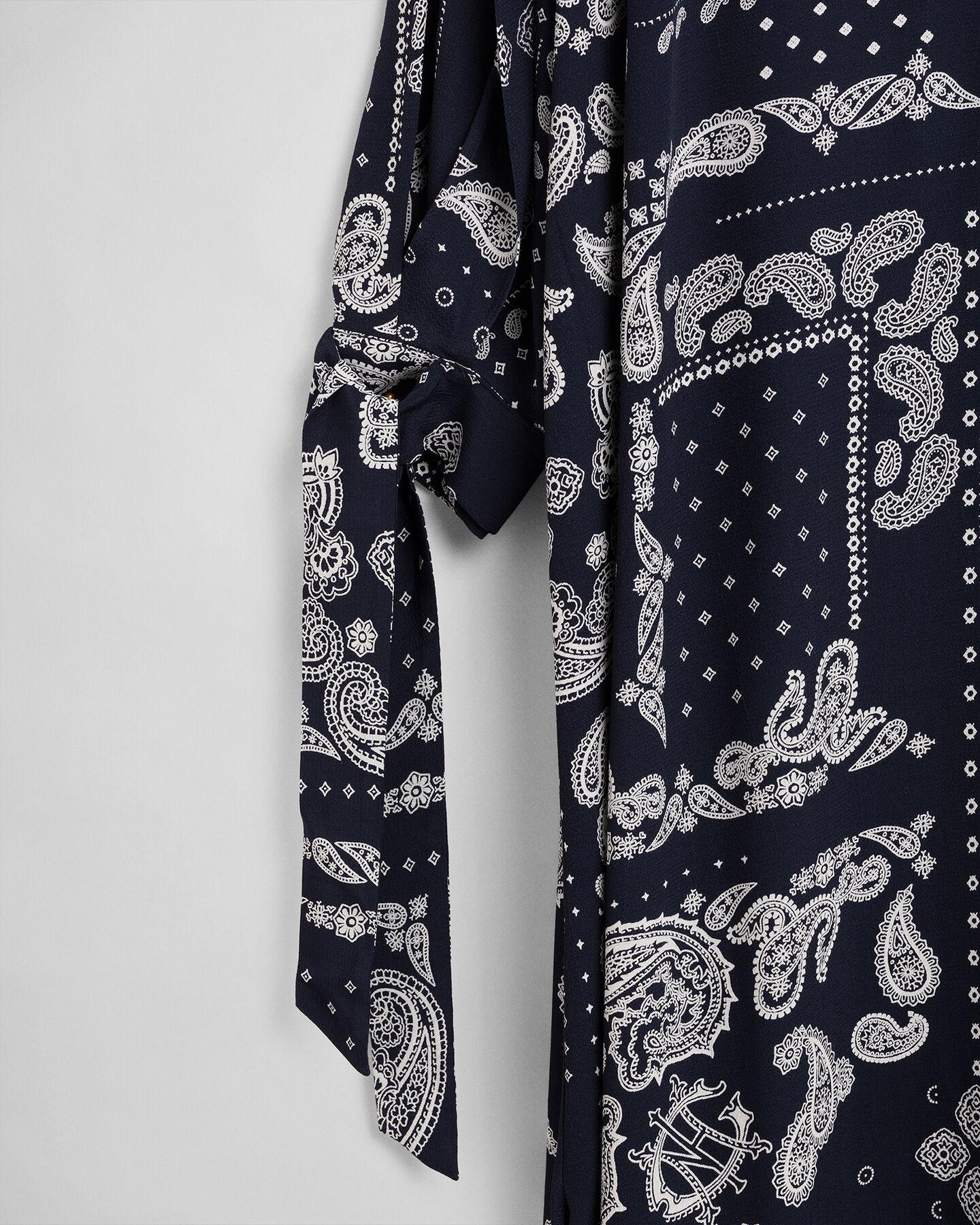 Kleid mit Paisley-Muster
