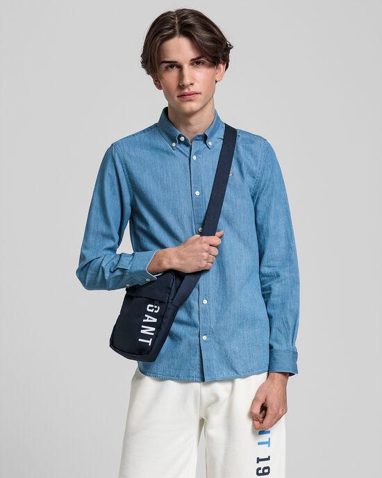 Teen Boys Hemd in Indigoblau