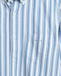 Coloration Project Regular Fit Hemd mit Streifen