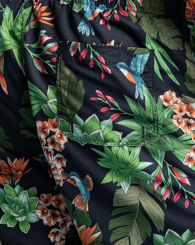 Classic Fit Humming Garden Badeshorts mit Print