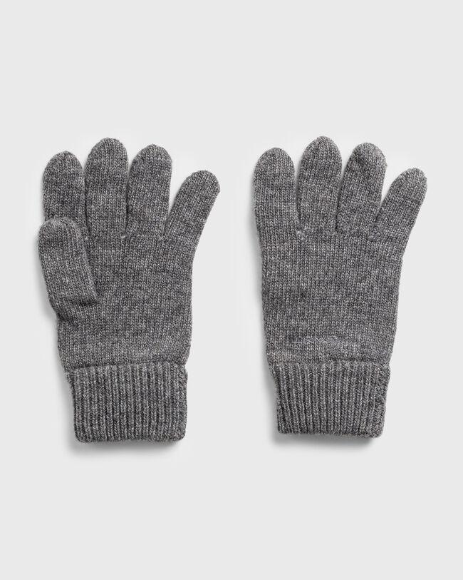 Strick Handschuhe aus Wolle