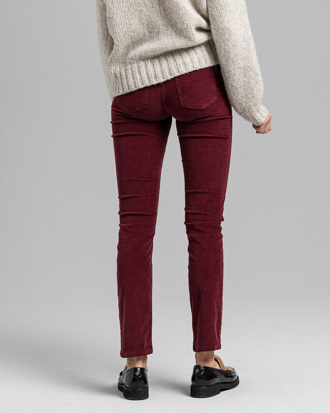 Slim Fit Cord Jeans