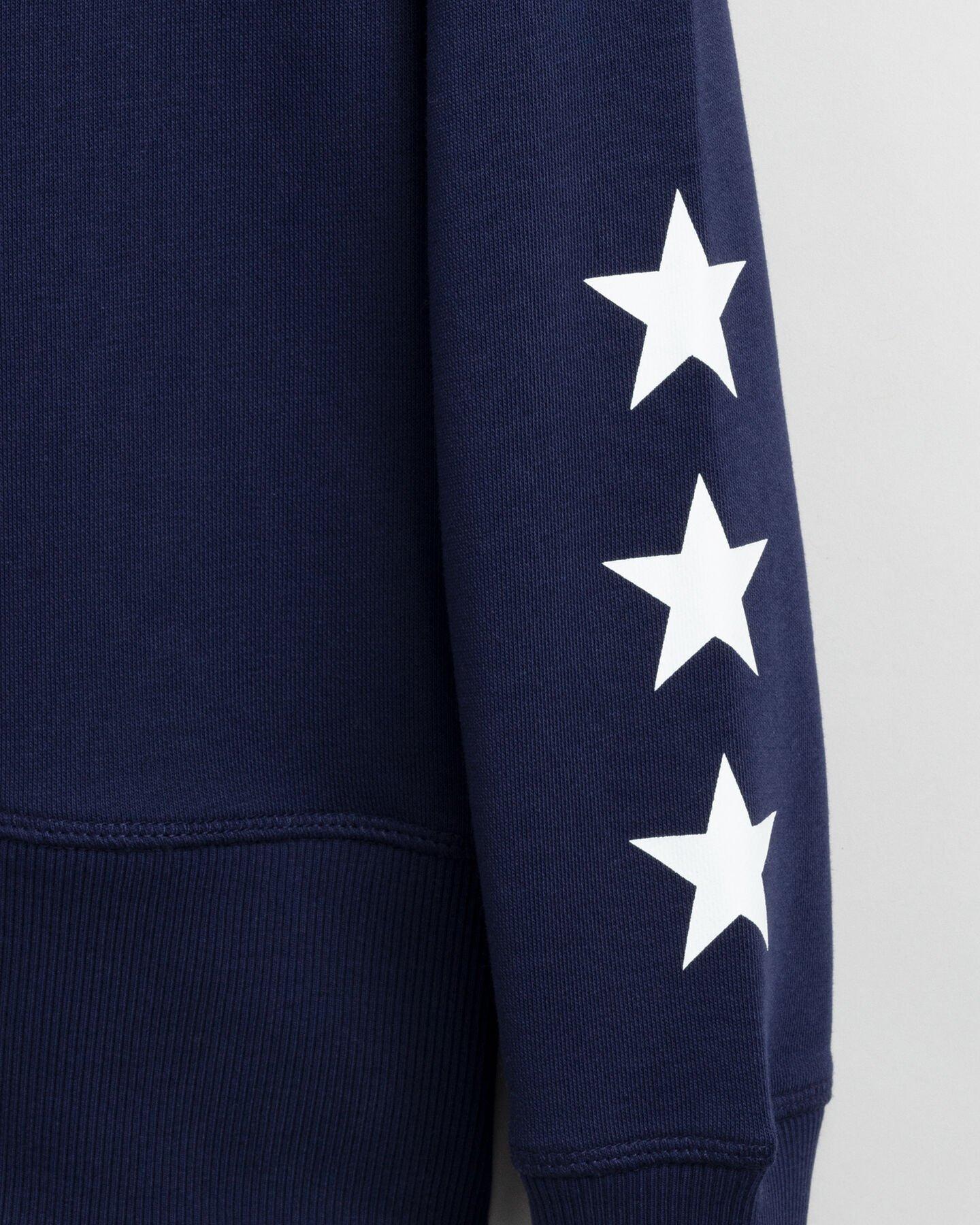 Retro Shield Rundhals-Sweatshirt