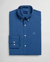 Slim Fit Hemd mit Pünktchen-Print