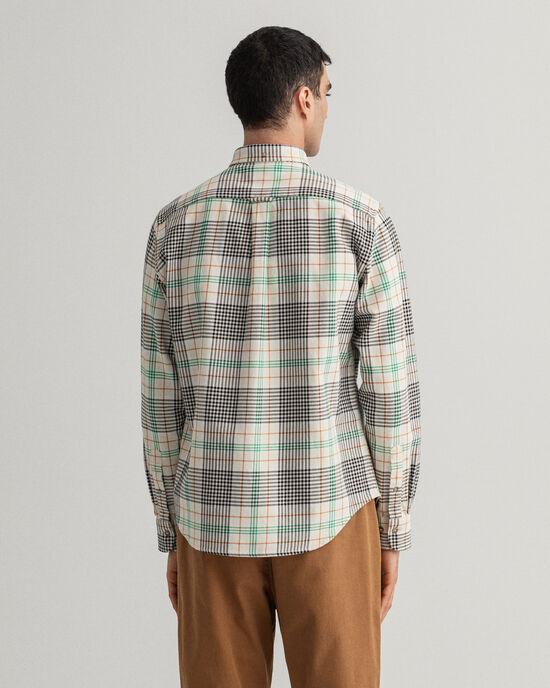 Regular Fit Heavy Twill Hemd mit Karomuster