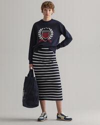 Crest Rundhals-Sweatshirt