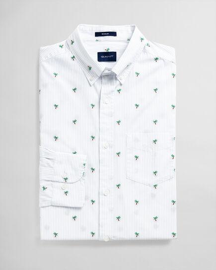 Palm Fil Coupé Regular Fit Hemd
