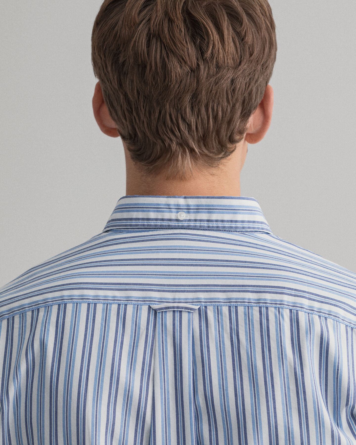 Tech Prep™ Nautical Regular Fit Oxford-Hemd mit Streifen