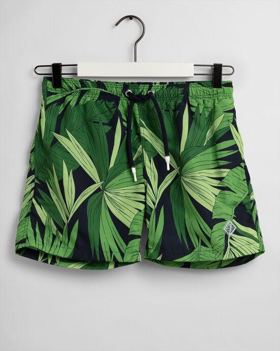 Teen Boys Palm Breeze Badeshorts mit Print