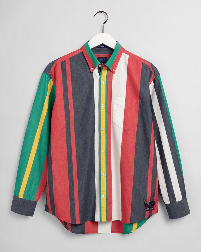 Rough Weather Relaxed Fit Hemd mit Streifen
