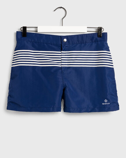 Ocean Prep 13 Stripes Swim Shorts