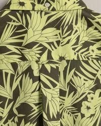 Tidal Bloom Regular Fit Kurzarm Hemd mit Print