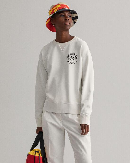 Graphic Rundhals-Sweatshirt