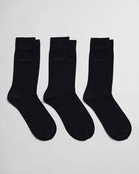 3er-Pack Socken aus mercerisierter Baumwolle