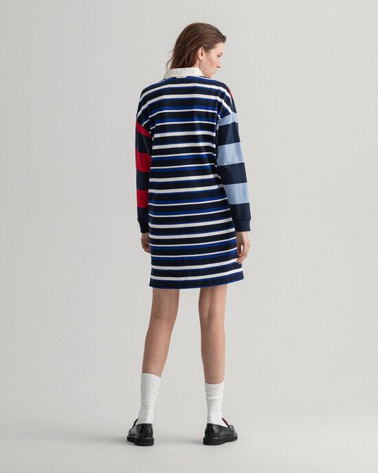 Remake Rugger Kleid mit Streifen