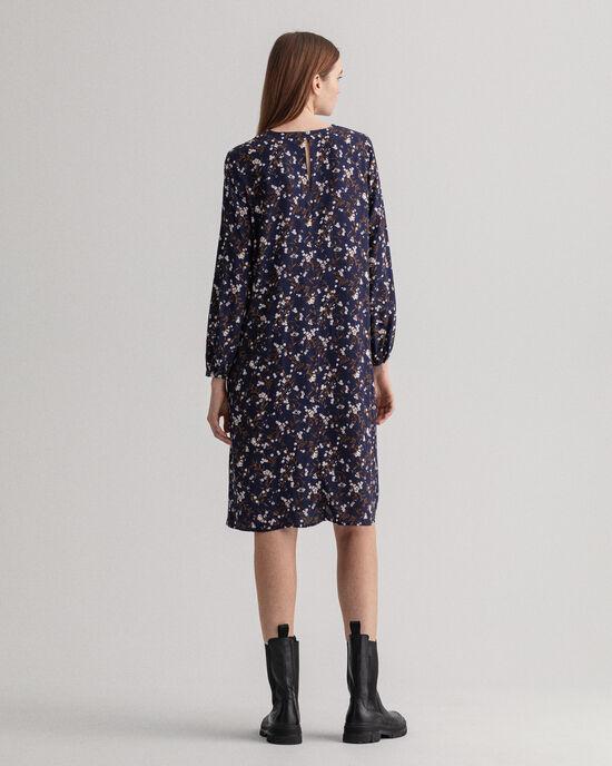 Rose Bud Kleid in Knielänge mit Print