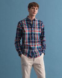 Tech Prep™ Regular Fit Tartan Oxford-Hemd