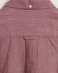 Regular Fit Seersucker Hemd mit Fischgrätmuster