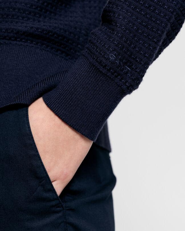 Textured Strickjacke