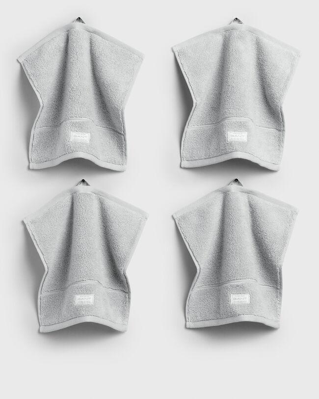 Organic Cotton Premium Handtuch 30 x 30 im 4er-Pack