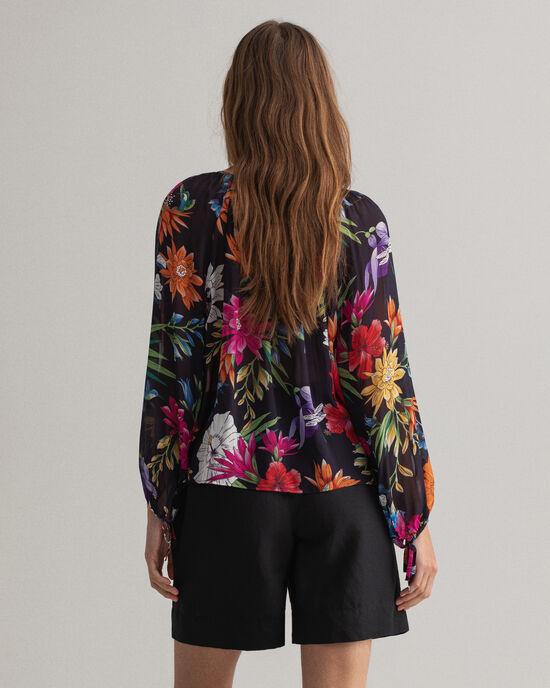 Humming Floral Bluse mit Print