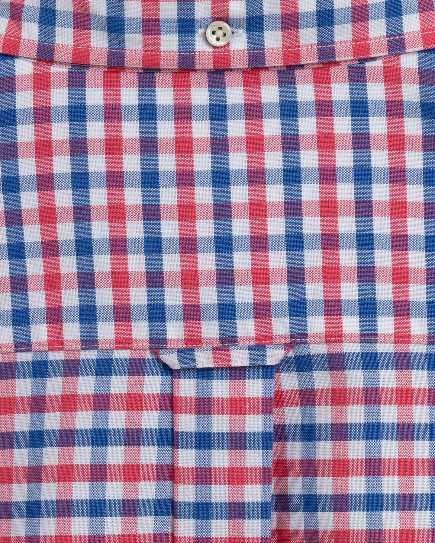 Regular Fit Oxford-Hemd mit Vichy-Karo in 2 Farben